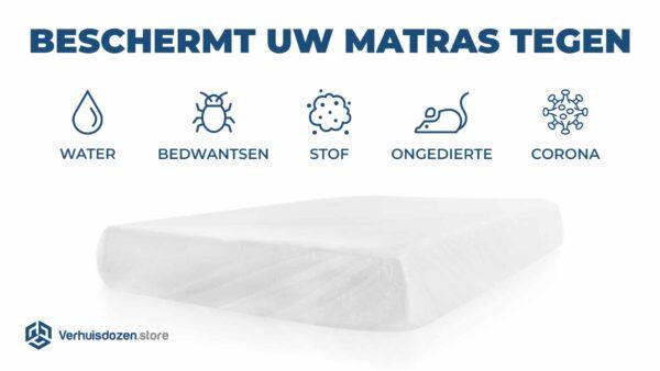 Bescherming van uw matras