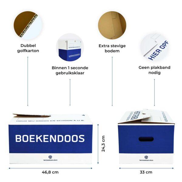 boekendoos specificaties 2021