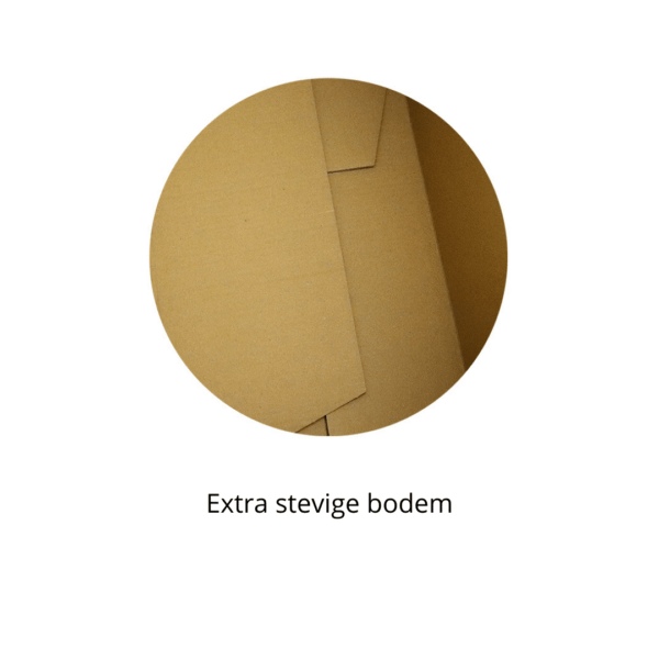 Verhuisdoos met extra stevige bodem