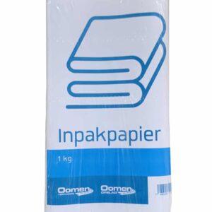 Inpakpapier 1 kg verpakt
